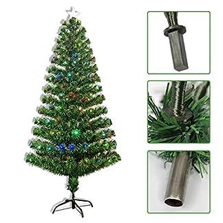 heling896-Weihnachtsbaum-Premium-Knstliche-Led-Baum-Bunte-Glasfaser-Lampe-Grn-Weihnachtsbaum-Eisenstnder-Home-Festival-Dekoration
