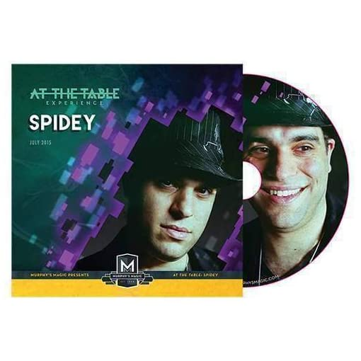 At-the-Table-Live-Lecture-Spidey-DVD-Zaubertricks-und-prop