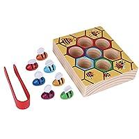 Zerodis-Holz-Bienen-Spielzeug-Klippkasten-Montessori-Geburtstag-Weihnachtsgeschenk-Pdagogisches-Lernspielzeug-fr-Kinder-Baby