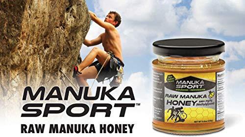 Manukasport Energy Gel mit echten Manuka Honig, 16er Pack x 45g (Honig-Citrus)