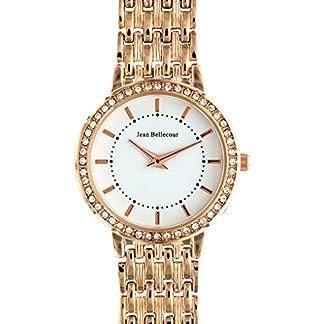 Jean-Bellecour-Damen-Analog-Quarz-Uhr-mit-Edelstahl-Armband-REDS15-RGW