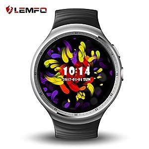 LEMFO-LES1-Watch-139-inch-AMOLED-Circular-Display-Fashion-16GB-ROM-3G-GPS-WIFI-Smart-Watch-Phone-Fast-Shipping
