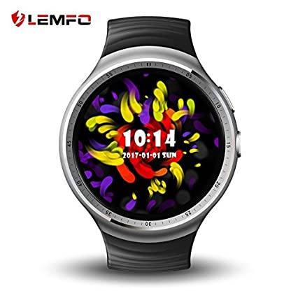 LEMFO-LES1-Watch-139-inch-AMOLED-Circular-Display-Fashion-16GB-ROM-3G-GPS-WIFI-Smart-Watch-Phone-Fast-Shipping