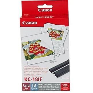 Original-Canon-Multipack-KC-18IF-KC18IF-fr-Canon-Selphy-CP-800-54x86mm-18-Blatt-1x-Kartusche-Farbig