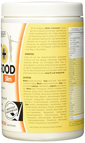 Layenberger Fit+Feelgood Slim Mahlzeitersatz Pfirsich-Aprikose, 1er Pack (1 x 430g)