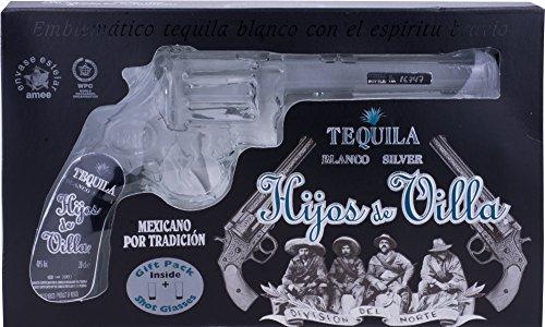 Hijos-de-Villa-Blanco-Tequila-Revolver-Flasche-mit-2-Shotglsern-1-x-02-l