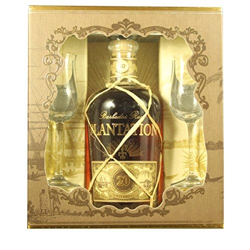 Plantation-Barbados-XO-Extra-Old-20th-Anniversary-mit-Geschenkverpackung-mit-2-Glsern-Rum-1-x-07-l