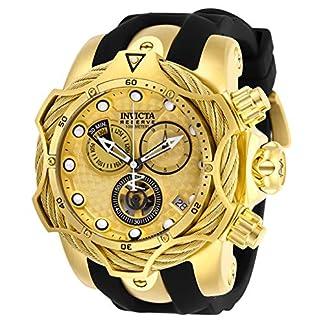 Invicta-Reserve-Herren-Armbanduhr-52mm-Armband-Silikon-Schweizer-Quarz-27708
