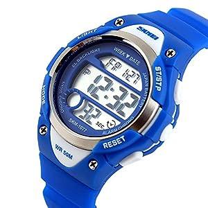 Uhren-Kinderuhren-Jugenduhren-Digitale-Uhren-Outdoor-und-Wasserdichte-elektronische-Uhren-Digitale-Displays-fr-Jugendliche-und-Kinder-Uhren-mit-LED-Leuchten