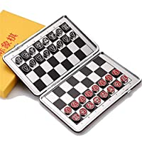 ChenYongPing-Schachspiel-Reise-Schachspiel-mit-faltendem-Schachbrett-Lernspielzeug-fr-Kinder-und-Erwachsene-fr-Kinder-und-ErwachseneReisen