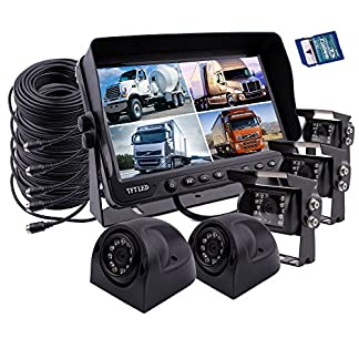 zhiren-Auto-Rear-View-Backup-Kamera-System-229-cm-Monitor-Eingebauter-DVR-Video-Aufnahme-mit-Quad-Split-Screen-5-x-CCD-Farbe-Wasserdicht-Nachtsicht-Kamera-fr-LKW-Van-Camper-Bus-RV
