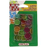 Unbekannt-Kim-Play-Magnetisch-Bingo-Flohspiel-100-Stck