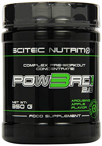 Scitec Nutrition Pow3rd! 2.0 Grüner Apfel, 1er Pack (1 x 350 g)