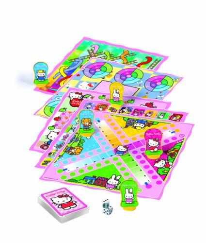 Clementoni-697458-Hello-Kitty-Spielesammlung-80-Spielvarianten