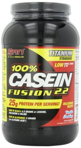 San 100% Casein Fusion Vanilla Pudding 1000 g