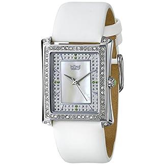 Burgi-Damen-Knstler-Analog-Display-Swiss-Quartz-Uhr-mit-Lederband