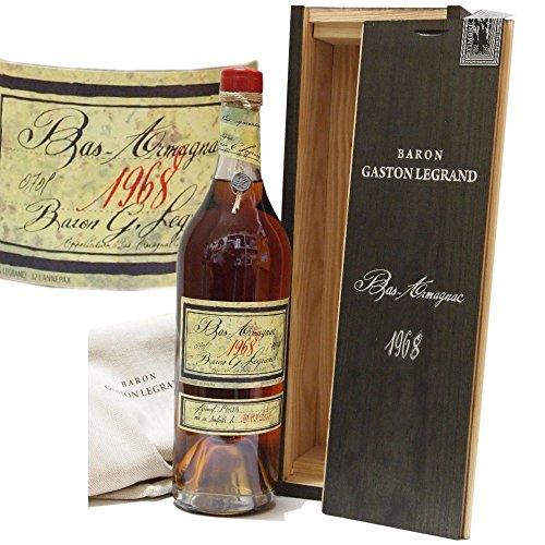 Baron-Gaston-Legrand-bas-Armagnac-Jahrgang-1968-50-Jahre-gelagert