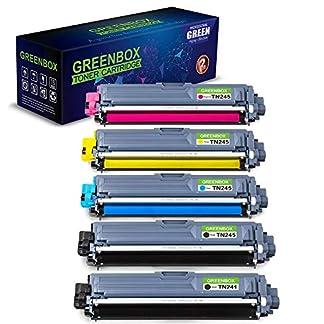5-Toner-Kompatibel-zu-Brother-TN-241-TN245-Kompatibel-mit-Brother-MFC-9332CDW-MFC-9330CDW-MFC-9142CDN-MFC-9140CDN-HL-3170CDW-HL-3140CW-DCP-9022CDW-Drucker-TN-241BK-TN-245C-TN-245M-TN-245Y