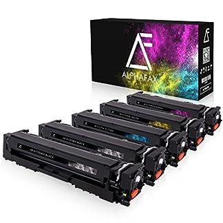 5-Alphafax-Toner-kompatibel-zu-HP-CF540X-CF543X-fr-Color-Laserjet-Pro-M-280nw-M-281fdn-M-281fdw-M-254nw-M-254dw-203X