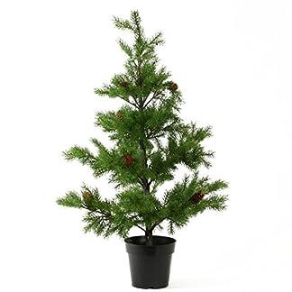 Knstliches-FICHTENBUMCHEN-im-TOPF-Weihnachtsbaum-Tannenbaum-Kunsttanne-ca-90-cm