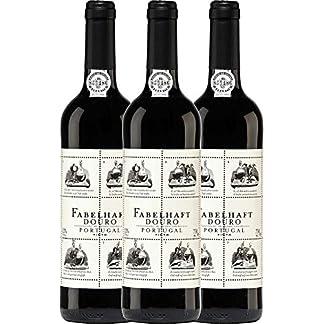 VINELLO-3er-Weinpaket-Rotwein-Fabelhaft-Tinto-Douro-DOC-2018-Niepoort-mit-Weinausgieer-trockener-Rotwein-portugiesischer-Wein-vom-Douro-3-x-075-Liter