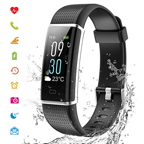 Cotify-Fitness-Tracker-mit-HD-Farbdisplay-Clevere-Fitness-Uhr-Armband-Aktivitten-Tracker-Schlaf-Puls-Sport-GPS-Tracker-Kalorienzhler-Bluetooth-Kompatibel-mit-iOS-Android