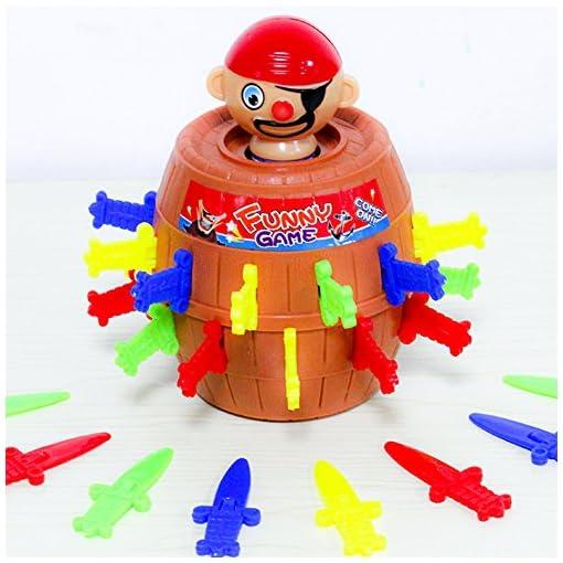 Rocita-Pop-up-Pirate-Kinder-Vorschule-Action-Gruppe-Spiel-Fun-Barrel-Plattenspieler-Spiel-Eimer-Einsatz-Sword-Funny-Spiel-Trick-Spielzeug
