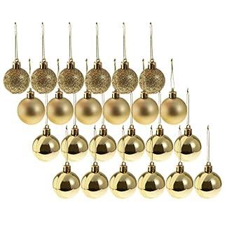P-Prettyia-24x-8cm-Weihnachtskugeln-Christbaumkugeln-Hngende-Kugeln-fr-Baum-Fenster-Tr-und-Garten-aus-Plastik