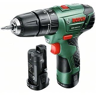 Bosch-DIY-Akku-Schlagbohrschrauber-PSB-108-LI-2-2-Akkus-Ladegert-Doppelschrauberbit-Koffer-108-V-15-Ah-30-Nm
