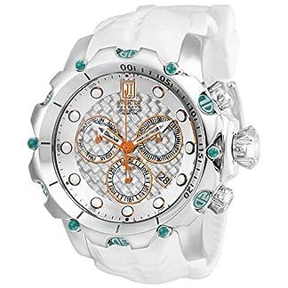 Invicta-Jason-Taylor-Herren-Armbanduhr-55mm-Wei-Schweizer-Quarz-Analog-27104