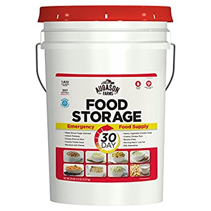 Emergency-Food-Supply-Storage-Ration-Kit-Container-Bar-Bucket-Pail-Freeze-Dried-MRE-by-Augason-Farms