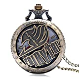 Retro-Taschenuhr-Bronze-Design-Quarz-Taschenuhr-fr-Herren-Frauen-Geschenk-mit-Halskette-Kette