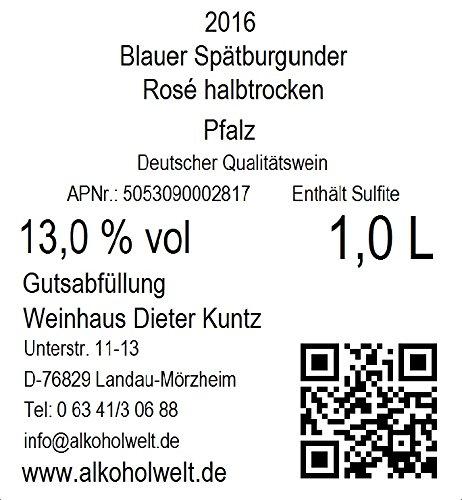 Weinhaus-Dieter-Kuntz-Rosewein-Sptburgunder-2016-halbtrocken-6-x-10-l