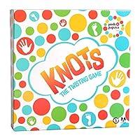 Pink-Papaya-Gesellschaftsspiel-Knots-lustiges-Balance-Spiel-Bodenspiel-mit-Spielmatte-Twisting-Game-fr-Kinder-Erwachsene