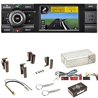 Kienzle-MCR-1031-NAV-Autoradio-Digitalradio-DAB-Bluetooth-USB-AUX-1-DIN-Navigation-MP3-WMA-FLAC-Einbauset-fr-Audi-A4-B5-A6-4B-C4-A8