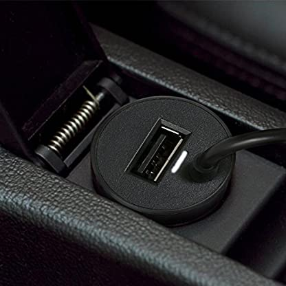 Wicked-Chili-2in1-KFZ-TMC-Ladegert-fr-Navigon-92-72-42-40-20-6310-7310-7210-6350-4310-4350-2410-2310-2210-2110-2150-USB-Port-fr-Handy-Tablet-140cm-2400mA