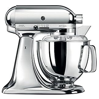 Kitchenaid-144255-Artisan-Kchenmaschine-Edelstahl-Chrom