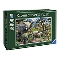 Ravensburger-17823-David-Penfound-At-the-waterhole-18000-Teile-Puzzle-276×192-cm