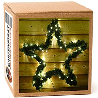 Groe-Aussen-Weihnachtssterne-mit-Girlande-umwickelt-und-mit-LED-beleuchtet