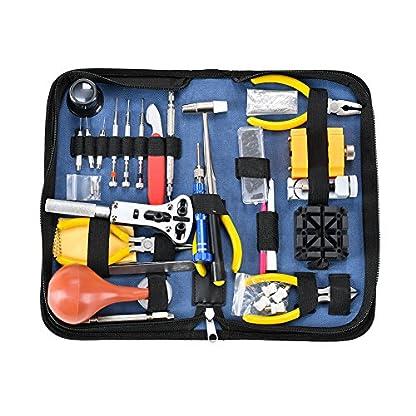 Uhr-Reparatur-Uhrmacherwerkzeug-Uhrenwerkzeug-SetUhr-Werkzeug-Tasche-Uhr-Werkzeug-Tasche-Reparatur-Set-Uhrwerkzeug-Gehuse-ffner-Watch-Tools-in-Schwarze-Nylontasche