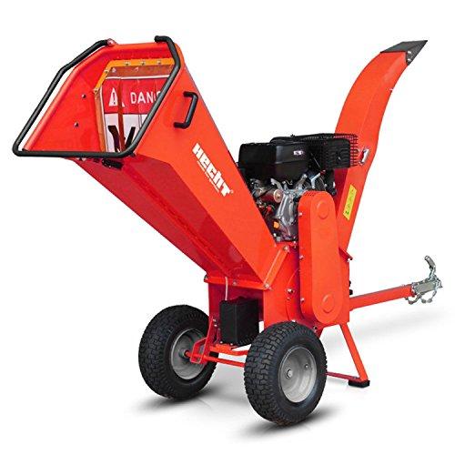 HECHT-Benzin-Hcksler-6642-Gartenhcksler-Holz-Schredder-112-kW-15-PS