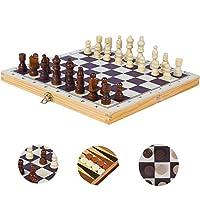 BJulian-Schachspiel-Holz-Schach-Dame-Backgammon-3-in-1-Set-in-Klappbox-29×29-cm-fr-Hobbyspieler-Einsteiger-Kinder-ab-6-Jahren