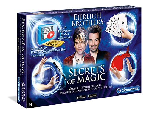 Clementoni-590483-Secrets-of-Magic