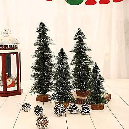 Matedepreso-Mini-Tischplatte-Weihnachtsbaum-Knstlich-Baum-Tischdeko-Weihnachten-Zubehr