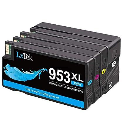 4-Pack-LxTek-953XL-Remanufactured-fr-HP-953-953XL-Druckerpatronen
