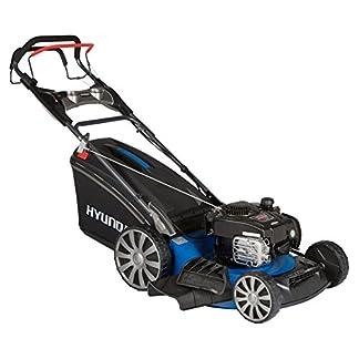 HYUNDAI-Benzin-Rasenmher-LM5101G-BS-Selbst-Antrieb-Schnittbreite-51cm-22kW-Briggs-Stratton-Motor-65L-Fangkorb-Mulchfunktion-Benzin-Mher