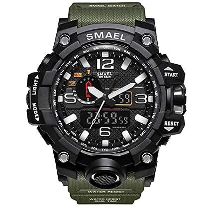 GOHUOS-Herren-Militrische-Sportuhr-Analog-Digital-Sportuhr-mit-PU-Uhrenarmband