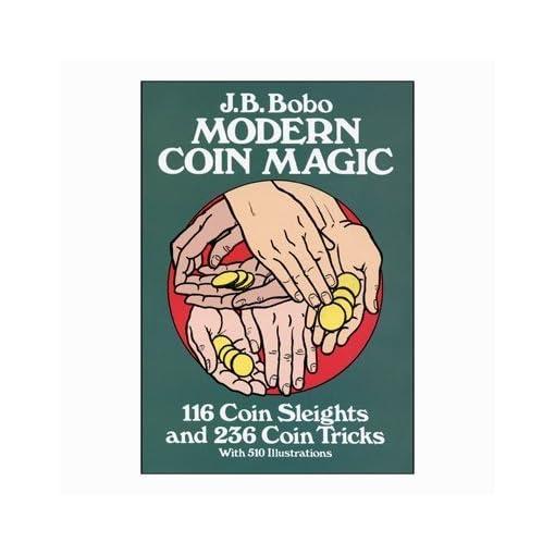 Modern-Coin-Magic-Bobo-Book-Dover