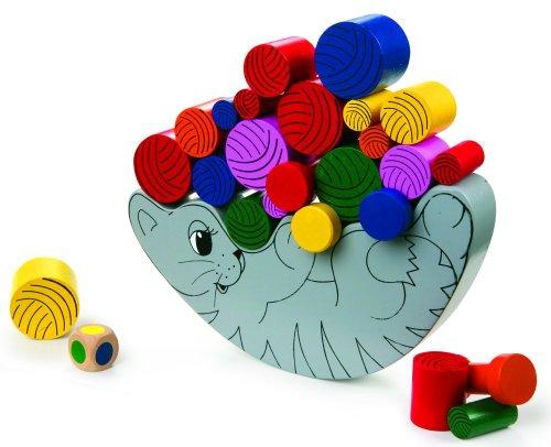 Balancierspiel-Katze-mit-Wrfel-schult-die-Konzentration-und-Geschicklichkeit-fr-Kinder-ab-3-Jahren