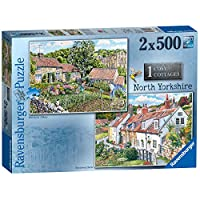 Ravensburger-Cosy-Cottages-No1-North-Yorkshire-Puzzle-2-x-500-Teile